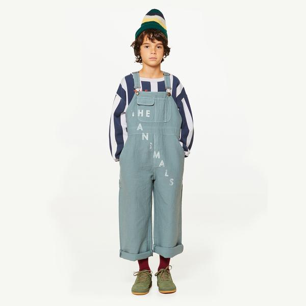Girls & Boys Grey Cotton Trousers