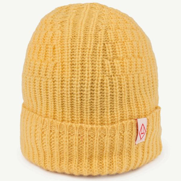 Boys Yellow Wool Hat