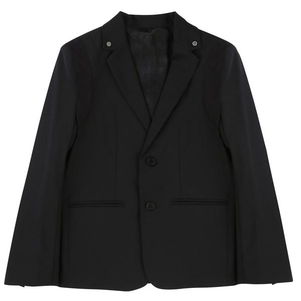 Boys Black Wool Blazer - CÉMAROSE | Children's Fashion Store