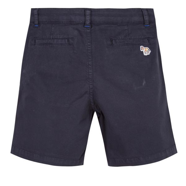 Boys Dark Blue Cotton Shorts