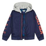 Boys Navy Cotton Jacket