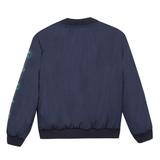 Boys Green & Navy Reversible Coat