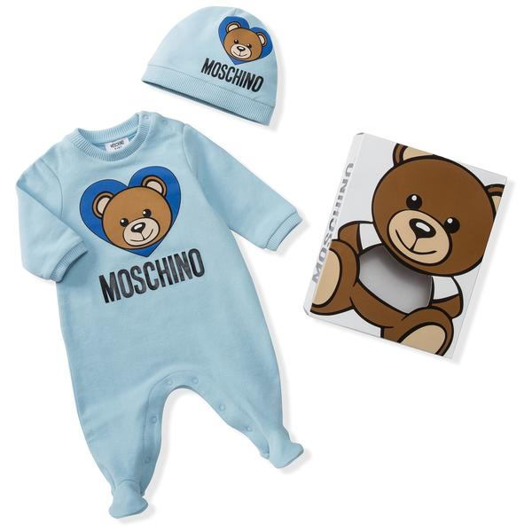 Baby Blue Link Cotton Sets