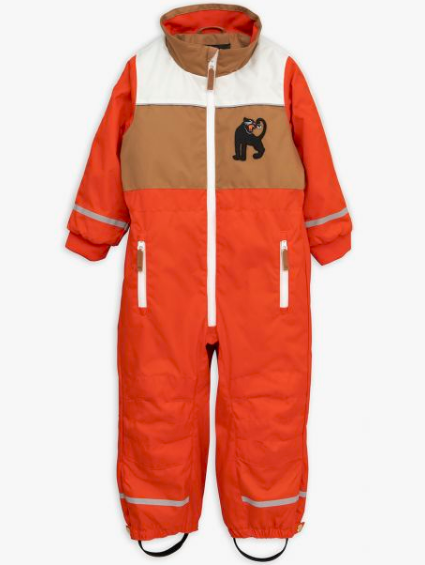 Boys & Girls Red Snowracing Overall