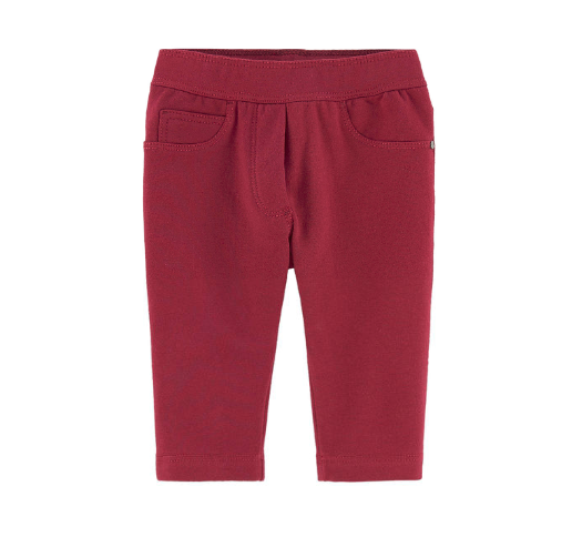 Baby Girls Cotton Base Fabric Trousers