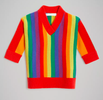 Baby Girls Multicolour Wool Dress