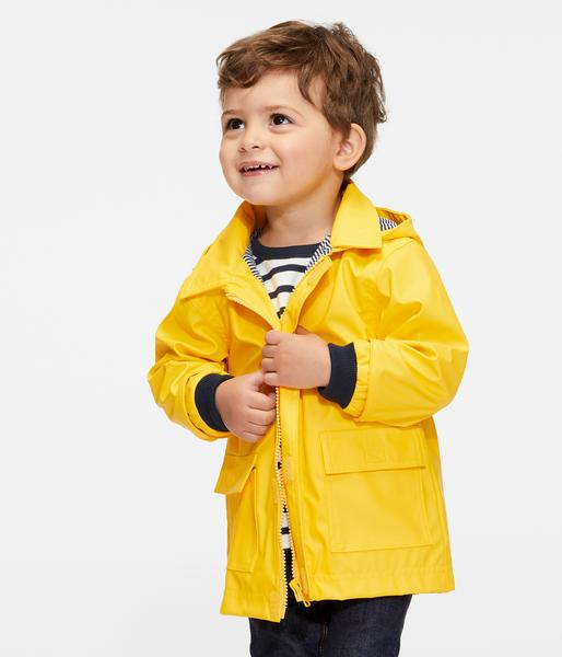 Baby Boys & Girls Yellow Coat