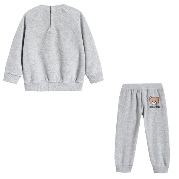 Baby Melange Grey Cotton Sets
