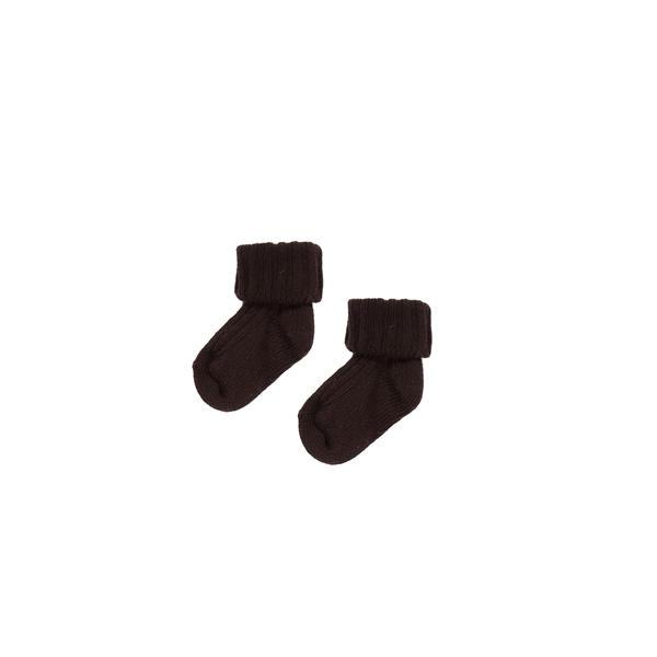 Girls & Boys Cacao Cotton Socks