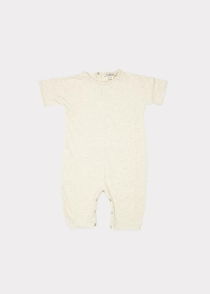Baby Girls Oatmeal Cotton Babysuits