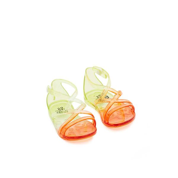 Girls Transparent Plastic Sandals
