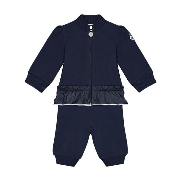 Baby Boys Navy Blue Cotton Set