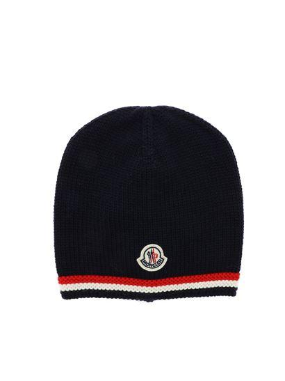 Baby Boys & Girls Navy Wool Hat