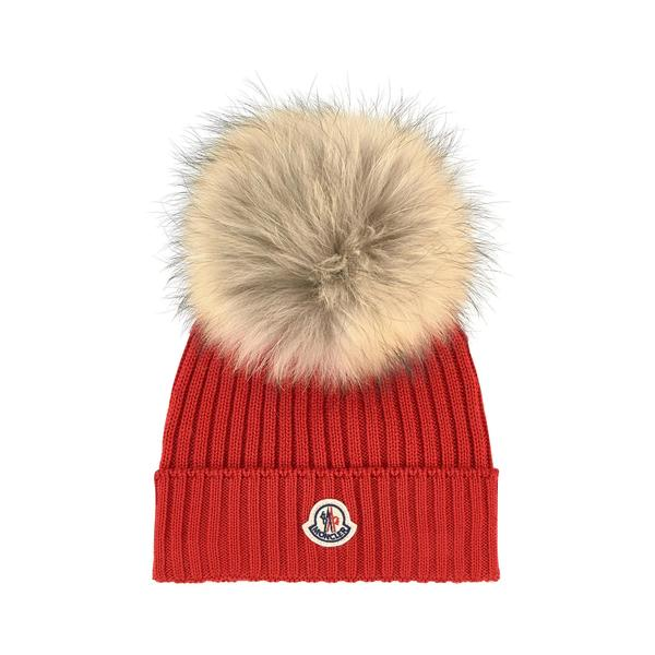 Girls Red Wool Hat