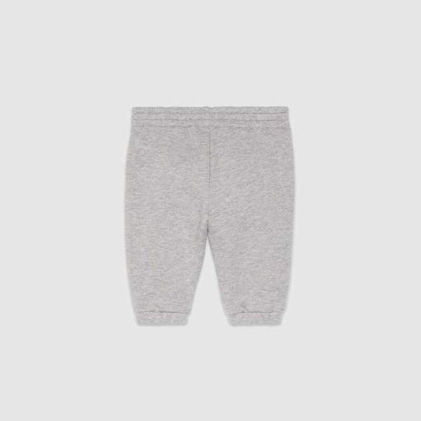 Baby Boys Grey Jersey Trousers