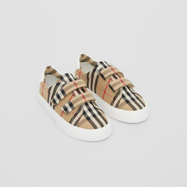 Boys & Girls Archive Beige Shoes