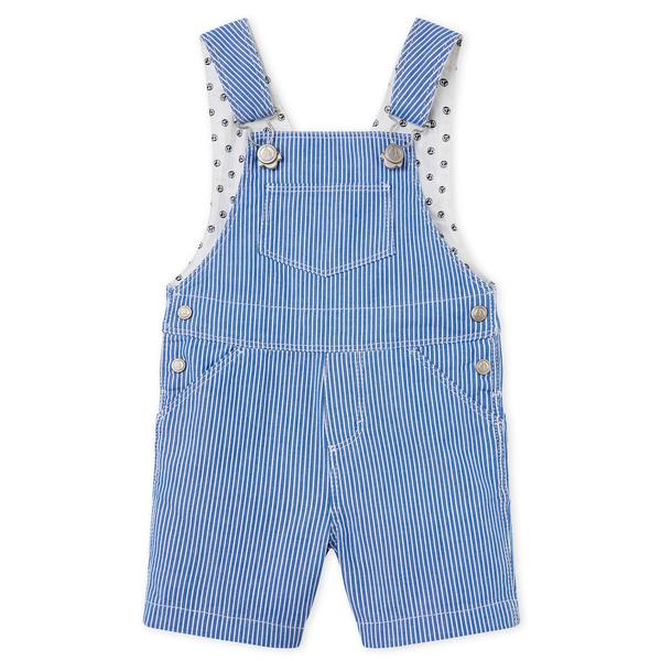 Baby Blue Stripes Shorts