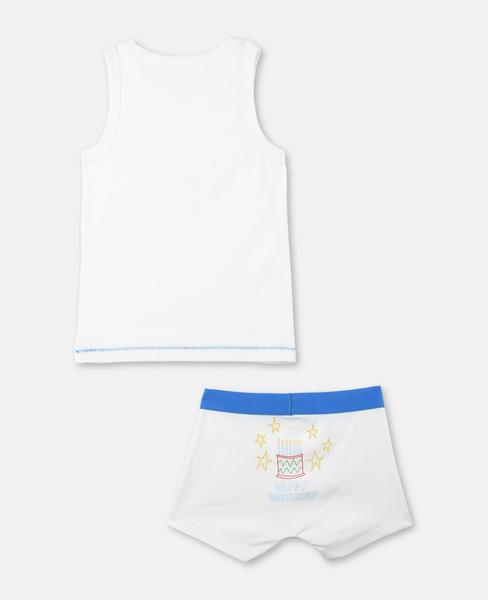 Boys White Anticipato Prim Set