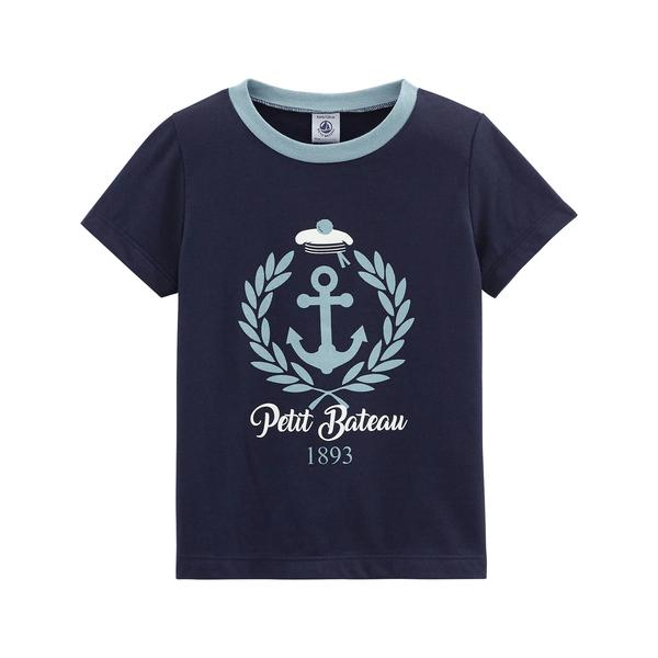 Boys Dark Blue T-shirt