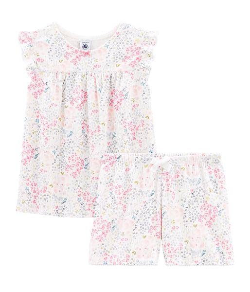 Girls Multicolor Cotton Set