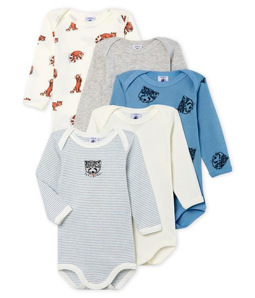 Baby Boys Multicolor Cotton Sets
