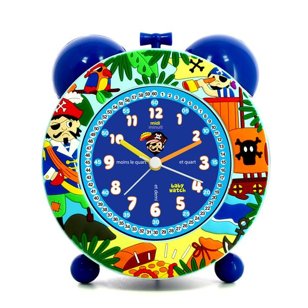 Boys Blue Pirate Alarm Clock