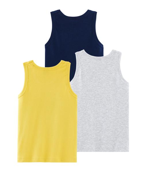 Boys Multicolor Cotton Vest Sets