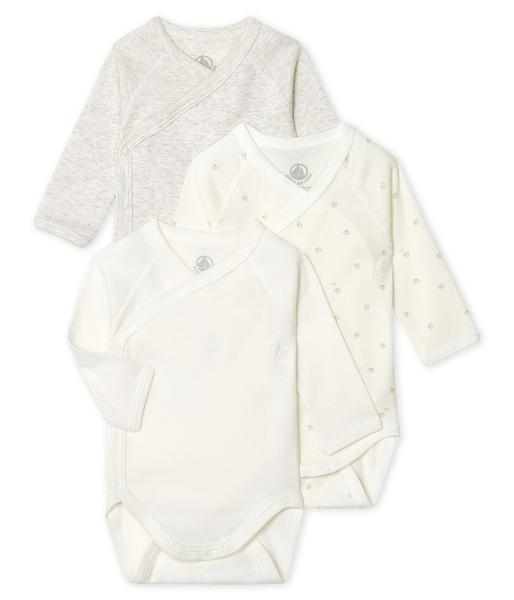 Baby Boys White Cotton Set