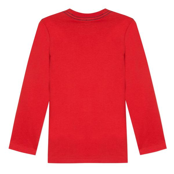 Boys Red Cotton Top