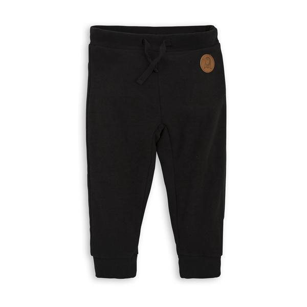 Girls & Blue Black Fleece Trousers