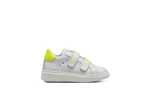 Boys & Girls Yellow Neon Lights Shoes