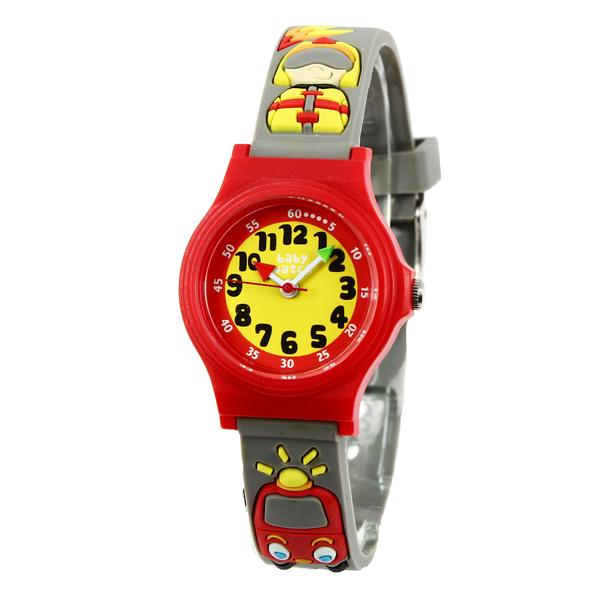 Boys Black Car Watch(3-6Y)