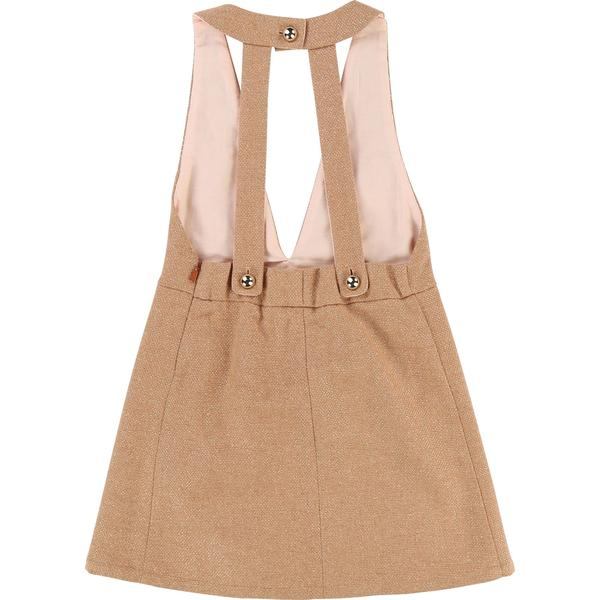 Girls Beige Dress