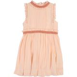 Girls Peach Dress