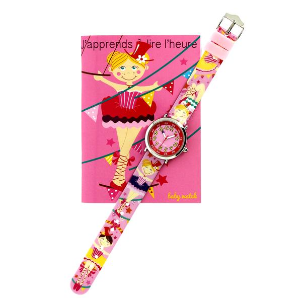 Girls Pink Watch(4-7Y)