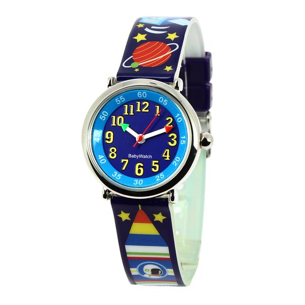 Boys Black Rocket Watch(4-7Y)