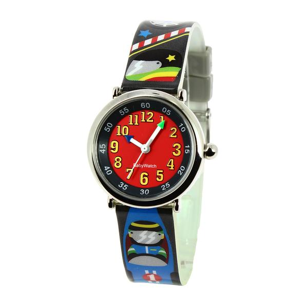 Boys Black Racing Watch(4-7Y)