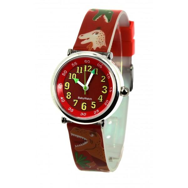 Boys Red Dino Watch(4-7Y)