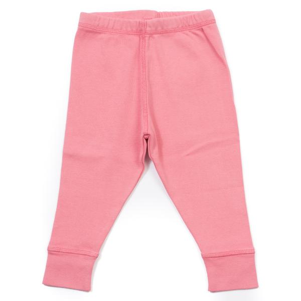 Baby Girls Rose Aux Joues Cotton Leggings
