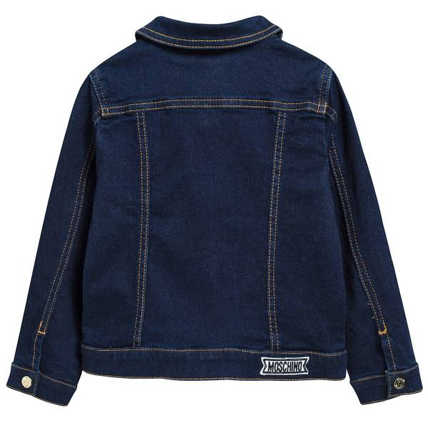 Baby Girls & Boys Dark Blue Cotton Rider