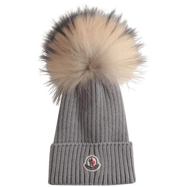 Boys Grey Wool Hat