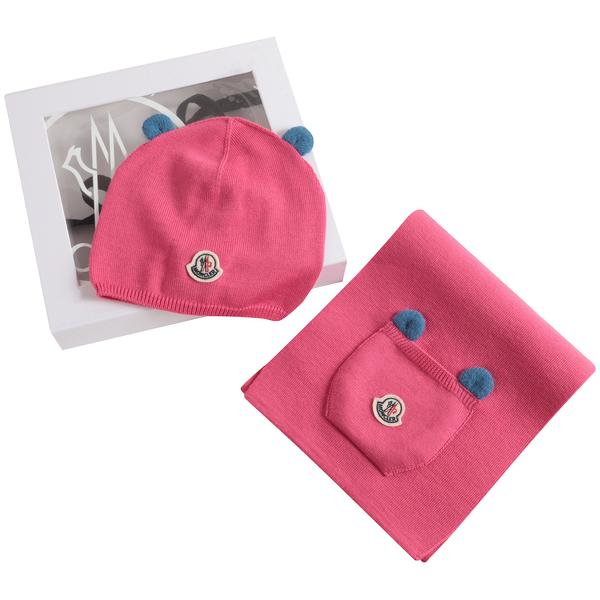 Baby Girls Pink Wool Gift Set