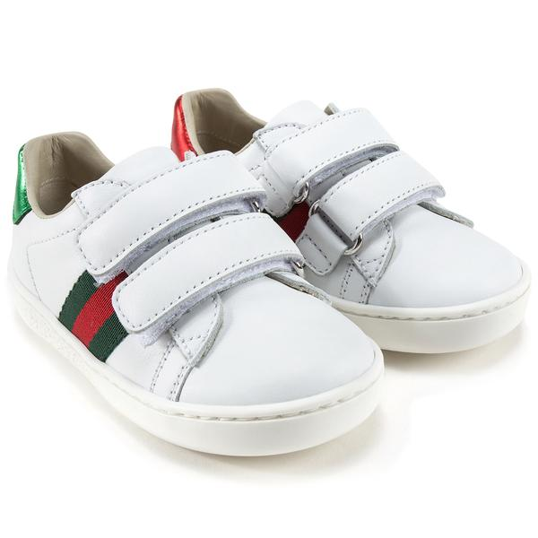 Baby Girls Velcro Leather Board Shoes