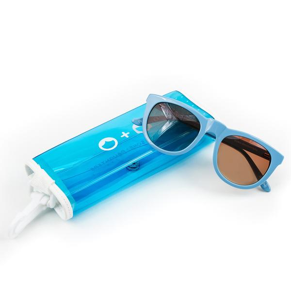 Bobby' Powder Blue Sunglasses