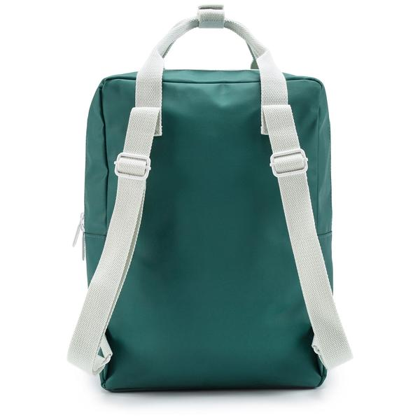 Girls Green Backpack Envelope Large