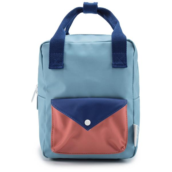 Girls Denim Blue Backpack Envelope Large