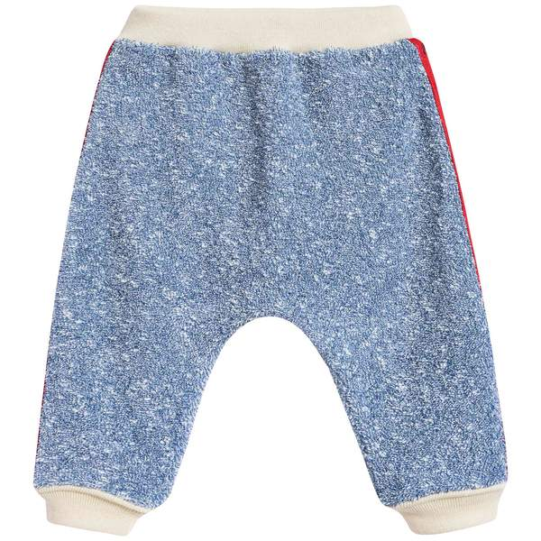 Baby Boys Cobalt Blue Cotton Trousers