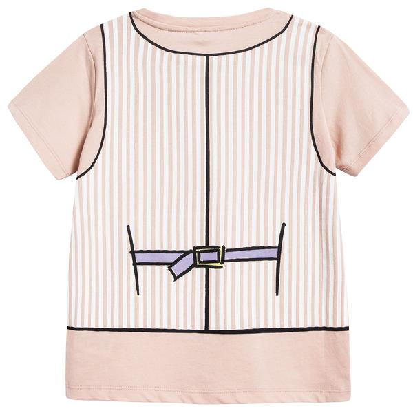 Girls Dusky Rose Anticipato Prim T-shirt