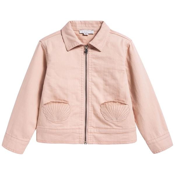 Girls Dusky Rose Anticipato Prim Jacket