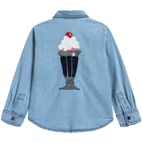 Girls Denim Anticipato Prim Shirt